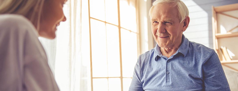 Сиделка для пенсионеров