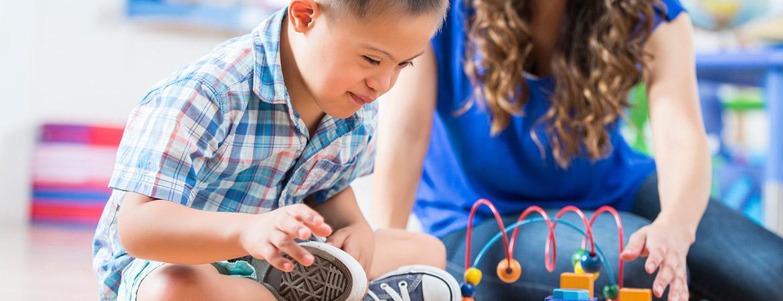 Няня для ребенка с синдромом Дауна