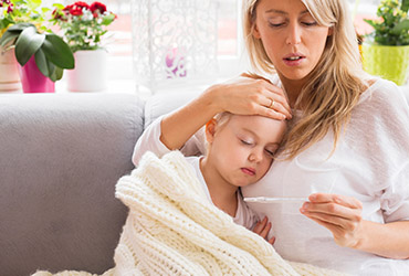 Поиск няни на время болезни ребенка